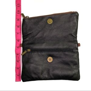 Vera Pelle Bags - Vera Pelle Italian Leather Crossbody/Wristlet Bag